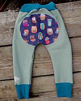 Detské oblečenie - softshelLOVE gate...soví karneval - 11669490_