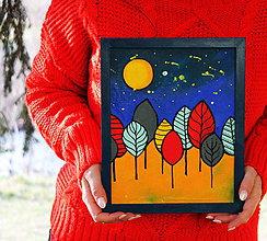 Obrazy - Pekný les - 11672164_