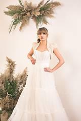 Šaty - Dvojdielne svadobné šaty - korzet a sukňa - 11671941_