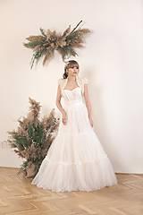 Šaty - Dvojdielne svadobné šaty - korzet a sukňa - 11671942_