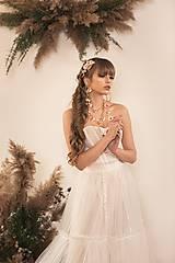 Šaty - Dvojdielne svadobné šaty - korzet a sukňa - 11671945_