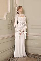 Svetre/Pulóvre - Bolerko na svadobné šaty rôzne vzory - 11672056_
