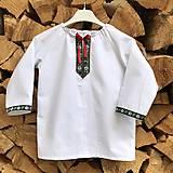 Detské oblečenie - Folklórna košielka Jurko - 11672699_