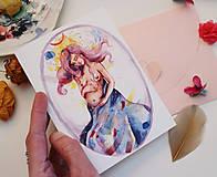 Papiernictvo - Mám malé tajomstvo/ pohľadnica - 11673304_