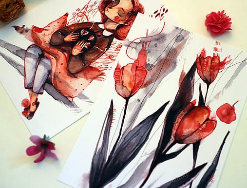 Vyšívam tulipány