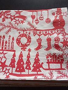Papier - servítky 1851 Vianoce (1852c) - 11674513_
