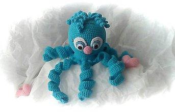 Hračky - Azúrová chobotnička - 11674173_