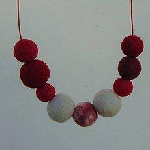 Náhrdelníky - ...plstený náhrdelník... - 11673446_