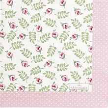Papier - Servítka G 110 Lily petit white - 11675714_