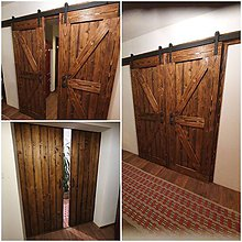 Nábytok - Posuvne stodolove dvere - 11672881_