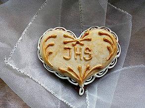 Dekorácie - Medovníček na 1.sv. prijímanie/svadbu - 11674655_