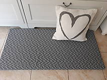 Úžitkový textil - Sedák home sweet home - 11675098_