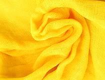 """Šály - """"brutal yellow"""" bavlnený šál skladom:-) - 11674667_"""