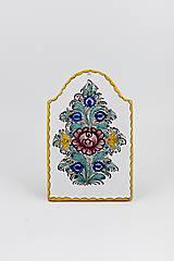 Dekorácie - Plaketa (Pestrý dekór) - 11676321_