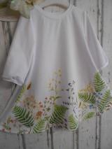 """Šaty - Maľované ľanové šaty """" Lúčne """"  (Detské maľované lúčne šaty) - 11678452_"""