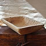 Nádoby - Drevené lipové koryto dlabané - 11677511_