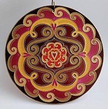 Dekorácie - Mandala Osudovej Lásky - 11676802_