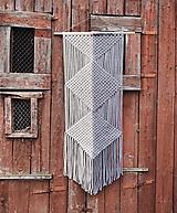 Makramé závesná dekorácia LINEA