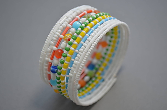 Náramky - Náramok farebné leto - 11676752_