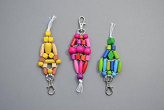 Kľúčenky - Kľúčenky s malou karabínkou - 11676917_