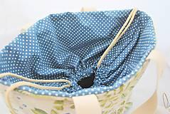 Iné tašky - Sada kabelotaška, srdiečko a taštička RASTLINKA - 11677076_