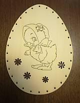 Polotovary - Dno na pletenie z pedigu - vajíčko veľké - 11678692_