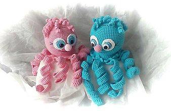 Hračky - Ružová a modrá - 11679344_