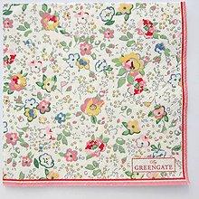 Papier - Servítka  G 72 Vivianne white small - 11679378_