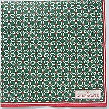 Papier - Servítka  G 73 Juno green small - 11679388_