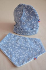 Detské čiapky - Detská čiapka plus šatka pod krk - 11679486_