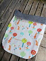 Textil - Nepadavá deka zvieratká - 11678989_