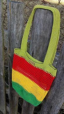 Nákupné tašky - Sieťovka Jamajka - 11679120_