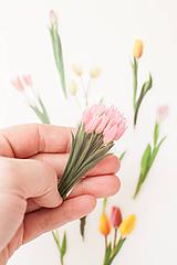 """Papier - Transparentný set nálepiek """" Tulipány I. """" - 11679474_"""