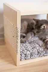 Pre zvieratká - Domček pre mačky - 11680990_