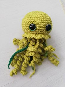 Hračky - Háčkovaná chobotnička do vrecka II. - 11681287_