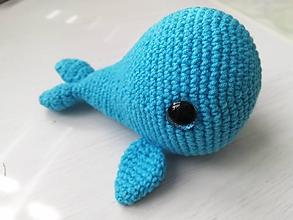 Hračky - Veľrybka modrá - 11681298_