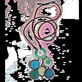 Náhrdelníky - Kaskada Azul - 11682957_