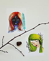 Set ilustrácií - Natur