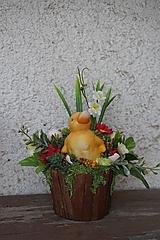 Dekorácie - Veľkonočná dekorácia - Káčatko - 11682825_