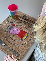 Hračky - Podložka s maľovaným zvieratkom - 11682522_