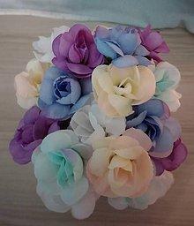 Ozdoby do vlasov - Celoročné večné ruže vlasenky - 11681240_