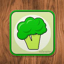 Pomôcky - Podšálka zelenina (brokolica) - 11680823_