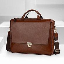 Na notebook - Kožená taška na notebook BIZNIS - 11684469_