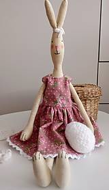Bábiky - Textilný zajačik - 11684925_