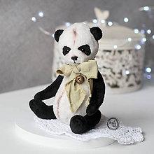 Hračky - Medvedík - Panda - 11684923_