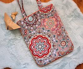 Nákupné tašky - mandalka - 11686922_