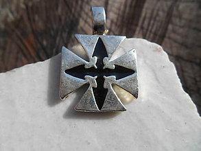 Šperky - Templar cross- - 11687424_