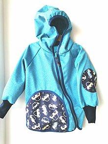 "Detské oblečenie - Softshellka ""veselé autíčka"" - 11686912_"