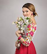 Tričká - Tričko Blossom Rosee - 11685874_