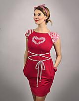 Šaty - Šaty Red Bird - 11686122_